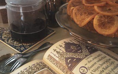 Arabisk mandelkage med appelsin